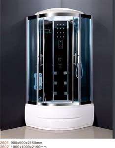 model 2601 steam shower room with masssage function