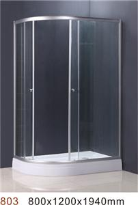 Left and Right model shower room